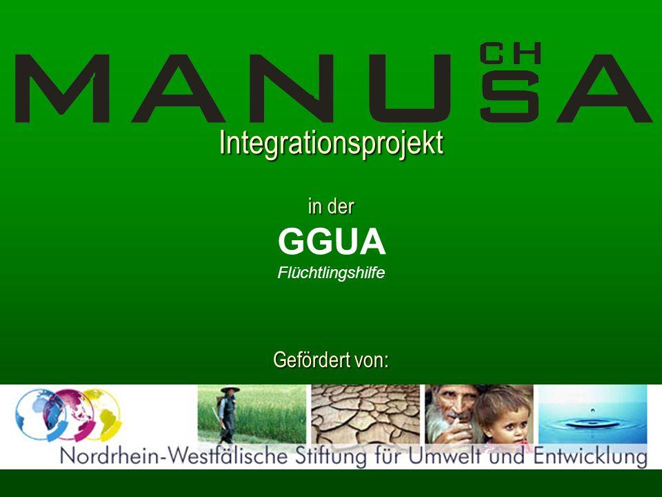 Integrationsprojekt in der GGUA Flüchtlingshilfe