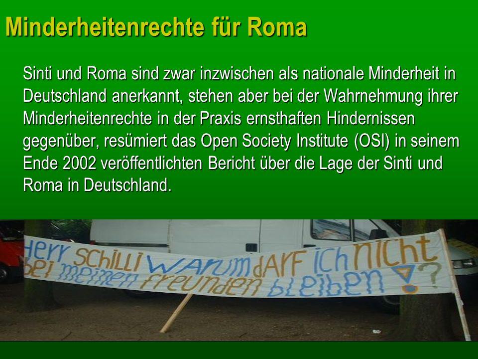 Minderheitenrechte für Roma