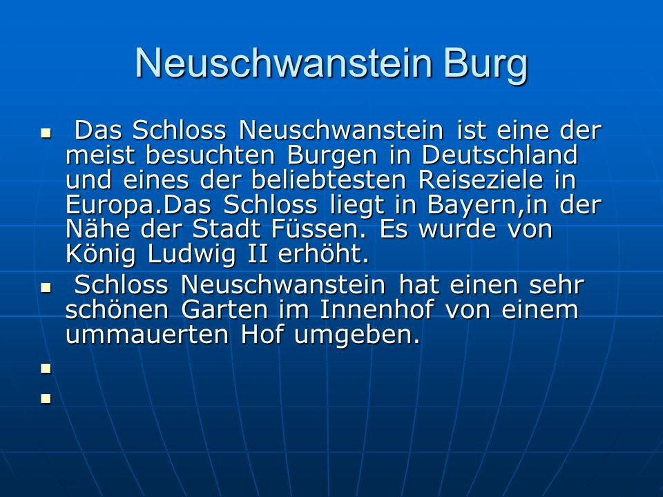 Neuschwanstein Burg