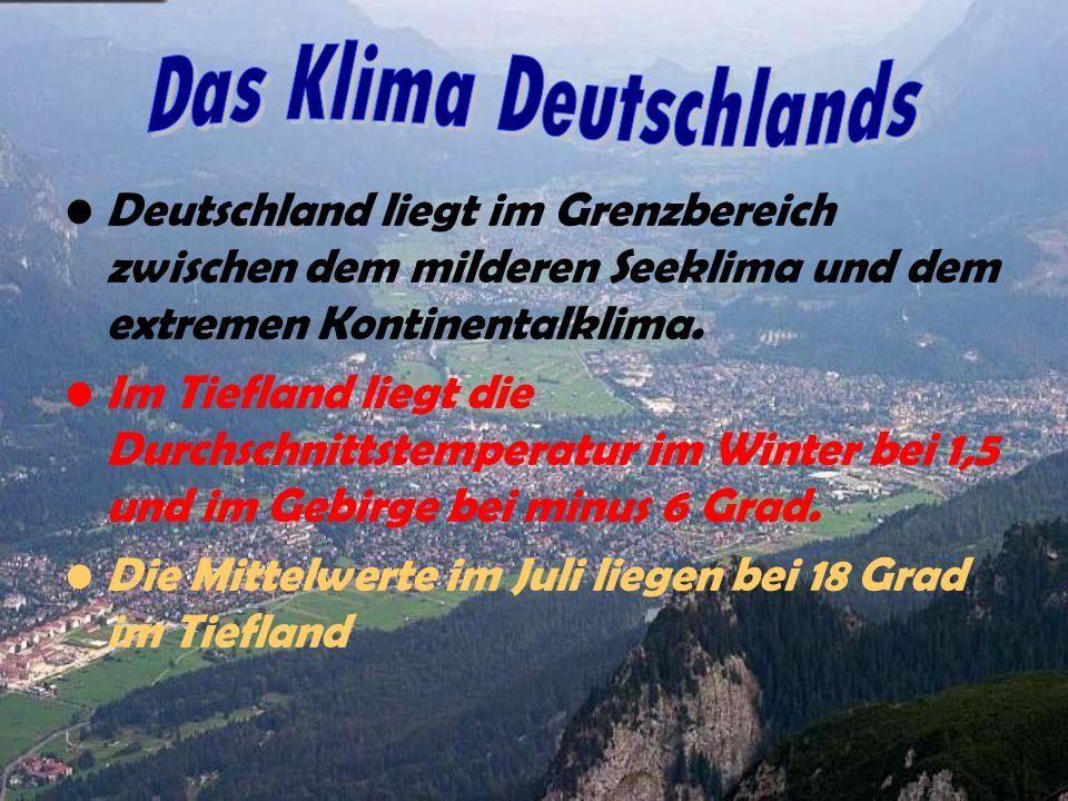 Das Klima Deutschlands