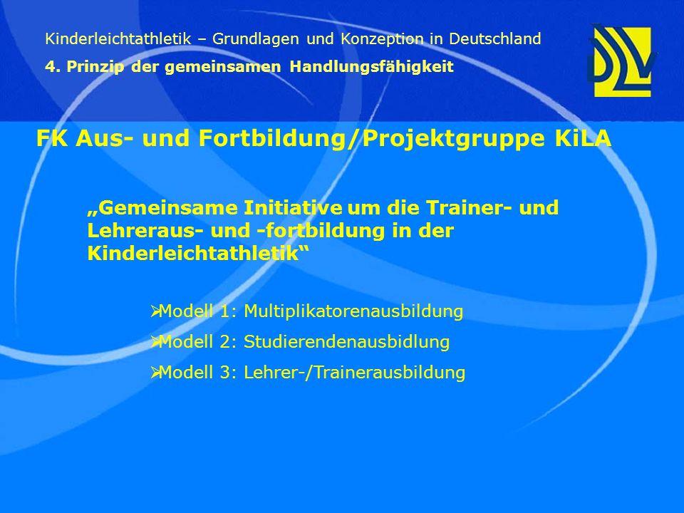 FK Aus- und Fortbildung/Projektgruppe KiLA