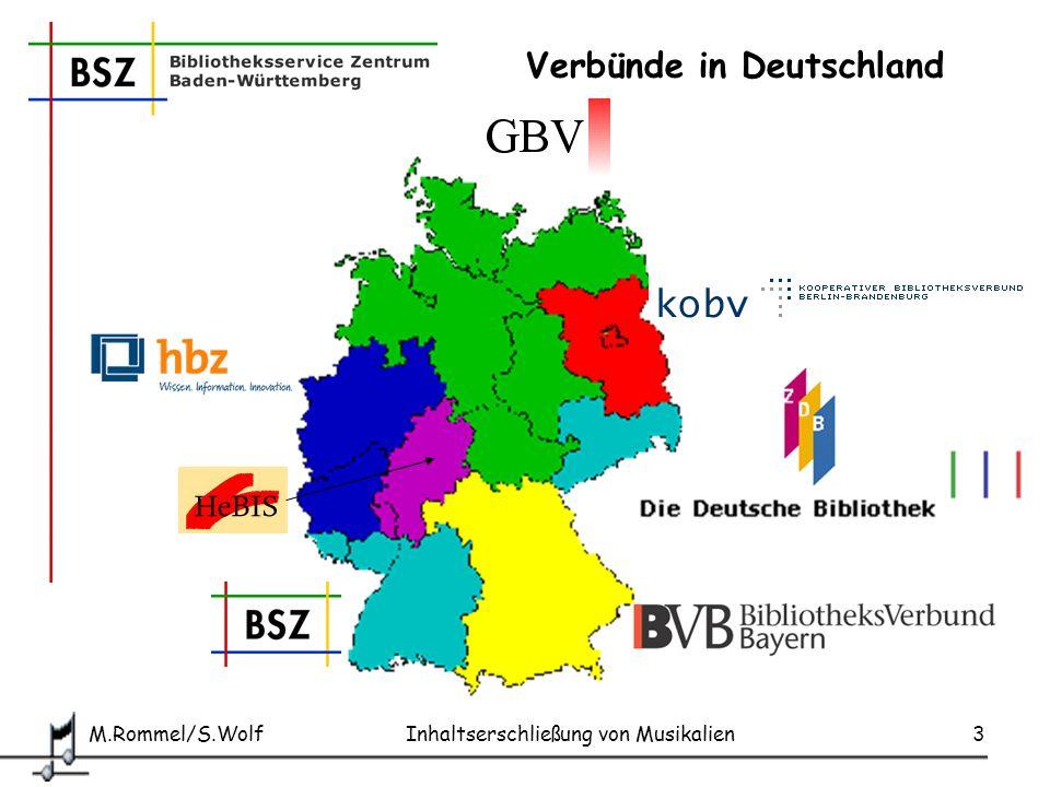 Verbünde in Deutschland