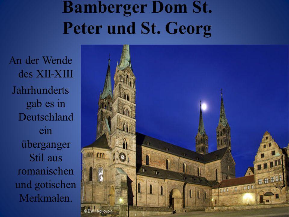 Bamberger Dom St. Peter und St. Georg
