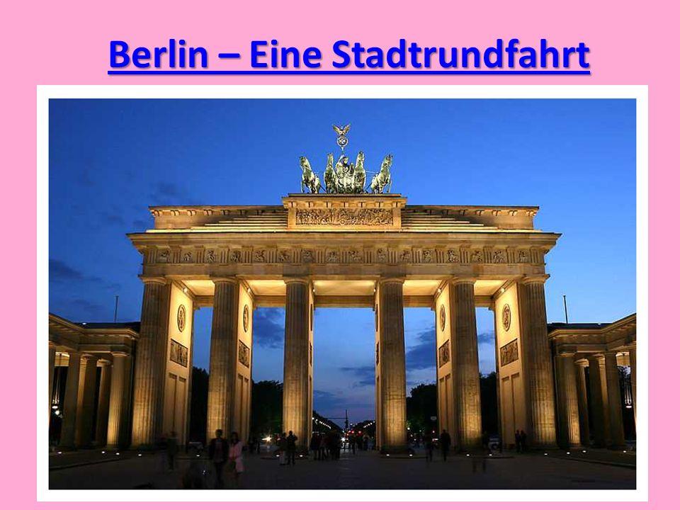Berlin – Eine Stadtrundfahrt
