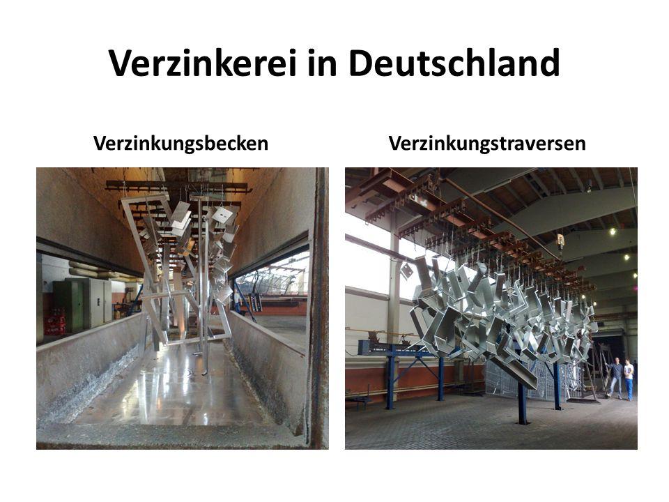 Verzinkerei in Deutschland