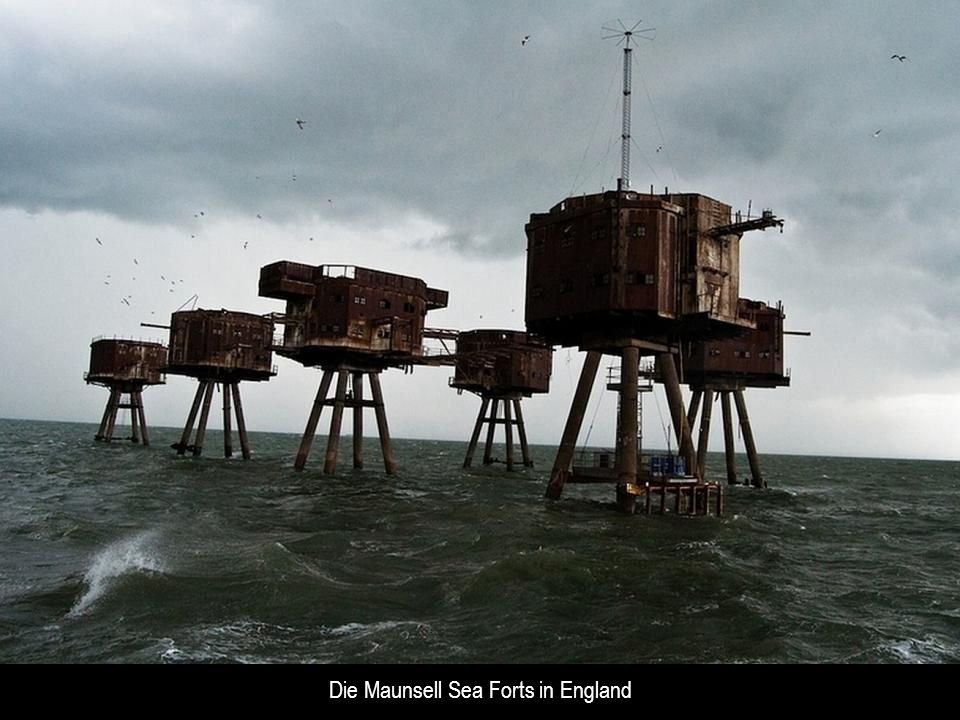 Die Maunsell Sea Forts in England
