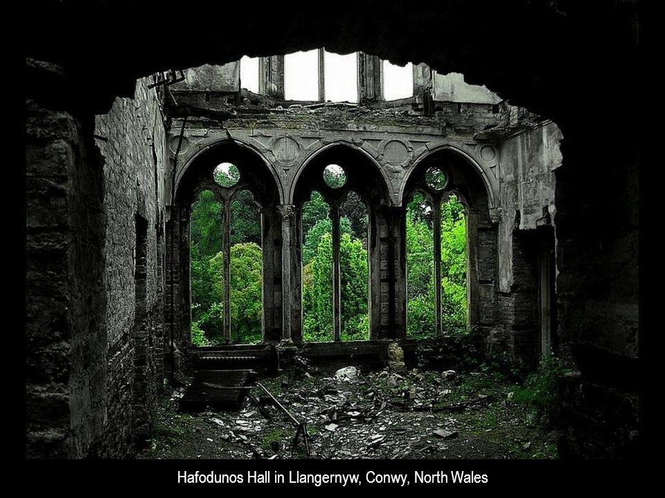 Hafodunos Hall in Llangernyw, Conwy, North Wales