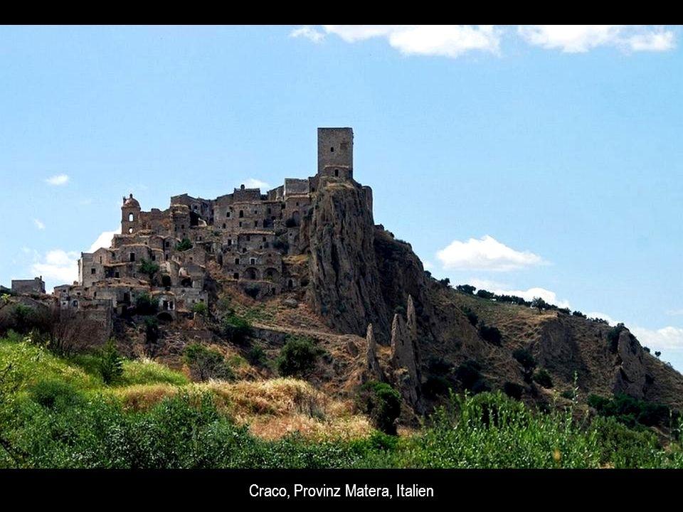 Craco, Provinz Matera, Italien