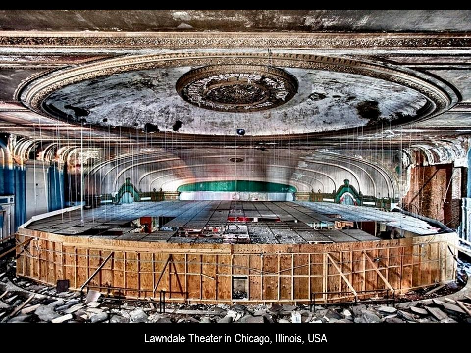 Lawndale Theater in Chicago, Illinois, USA