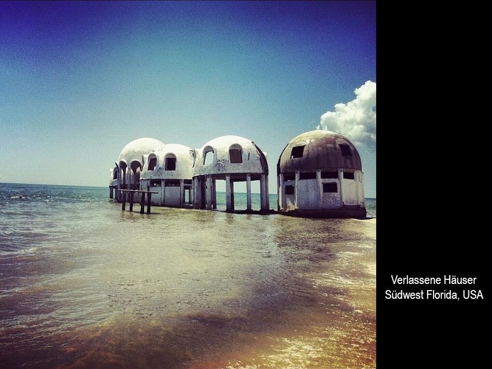 Verlassene Häuser Südwest Florida, USA