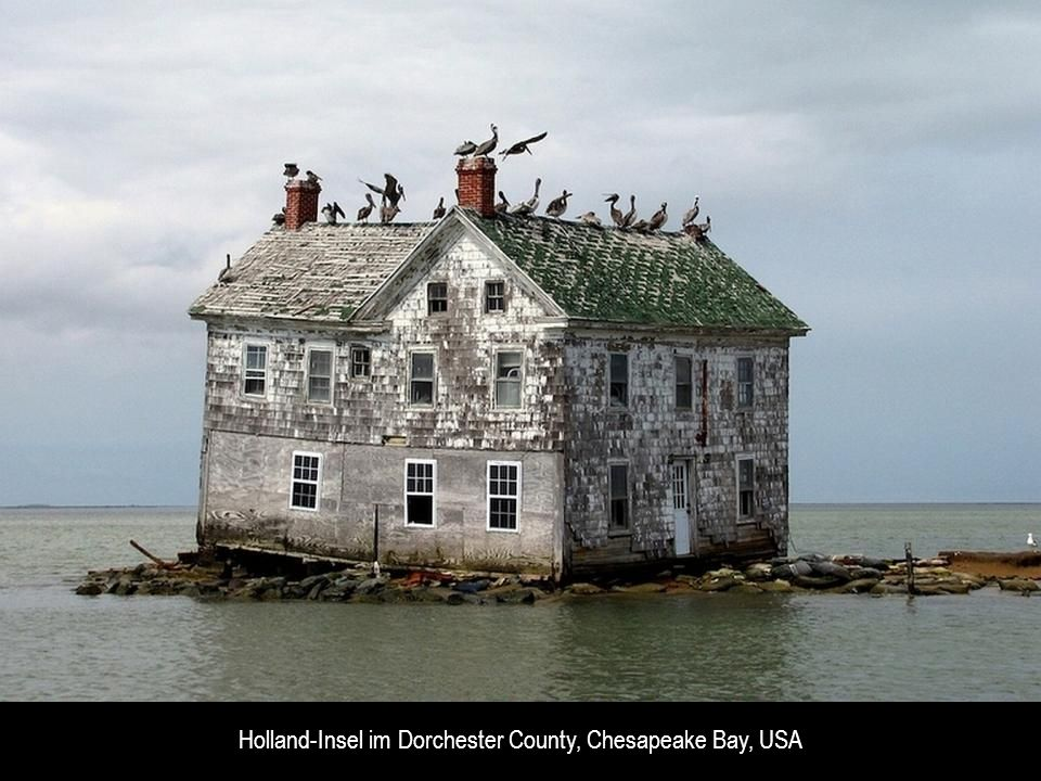 Holland-Insel im Dorchester County, Chesapeake Bay, USA