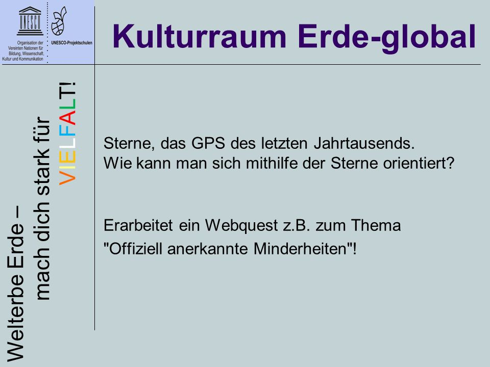 Kulturraum Erde-global