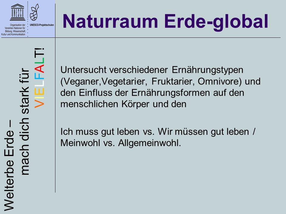 Naturraum Erde-global