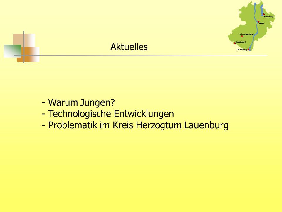 Aktuelles - Warum Jungen Technologische Entwicklungen Problematik im Kreis Herzogtum Lauenburg