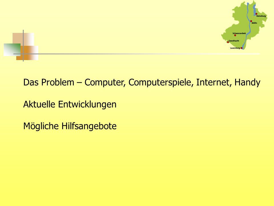 Das Problem – Computer, Computerspiele, Internet, Handy