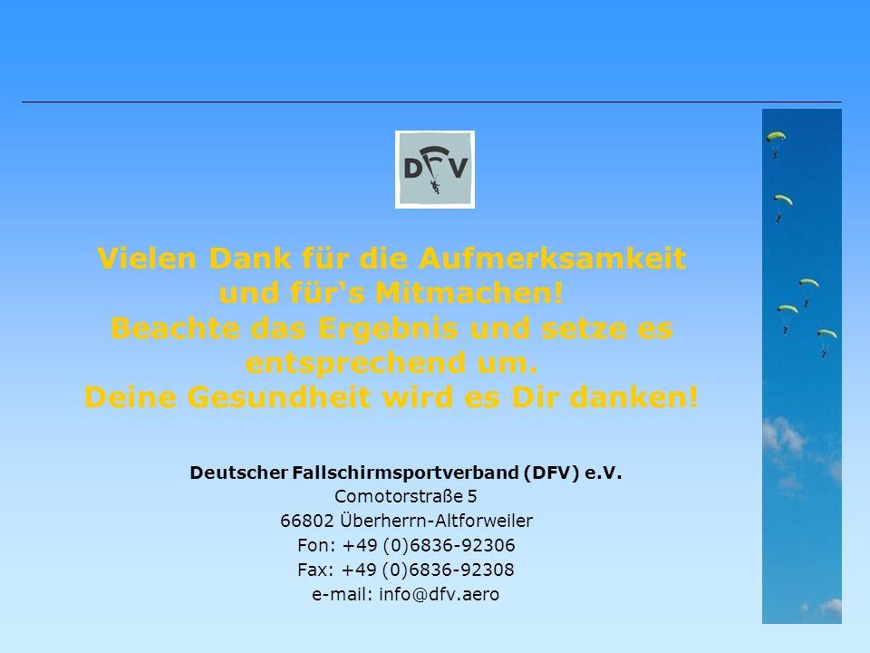 Deutscher Fallschirmsportverband (DFV) e.V.