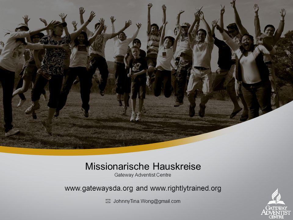 Missionarische Hauskreise