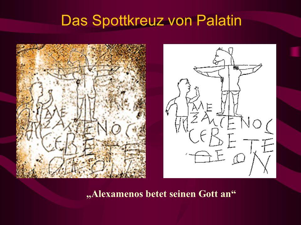 Das Spottkreuz von Palatin