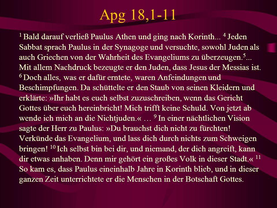 Apg 18,1-11