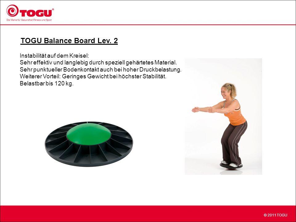 TOGU Balance Board Lev. 2 Instabilität auf dem Kreisel:
