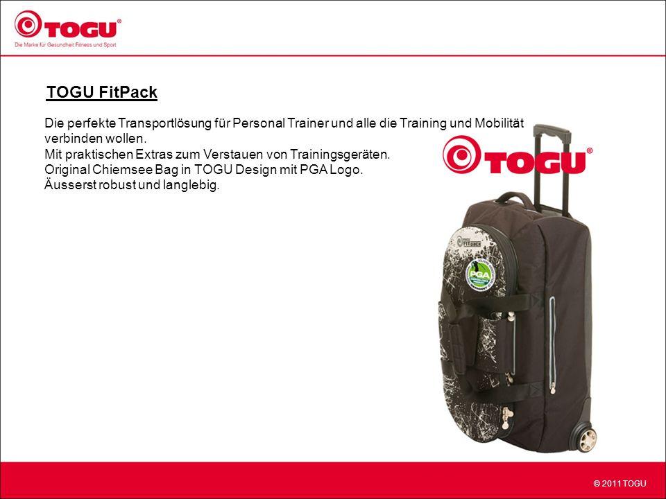 TOGU FitPack Die perfekte Transportlösung für Personal Trainer und alle die Training und Mobilität.