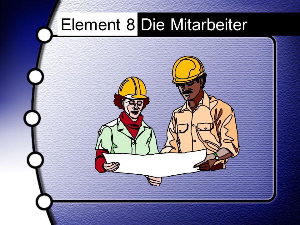 Element 8 Die Mitarbeiter