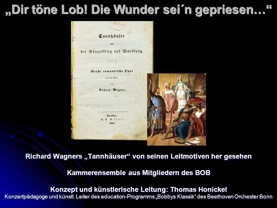 """""""Dir töne Lob! Die Wunder sei´n gepriesen…"""