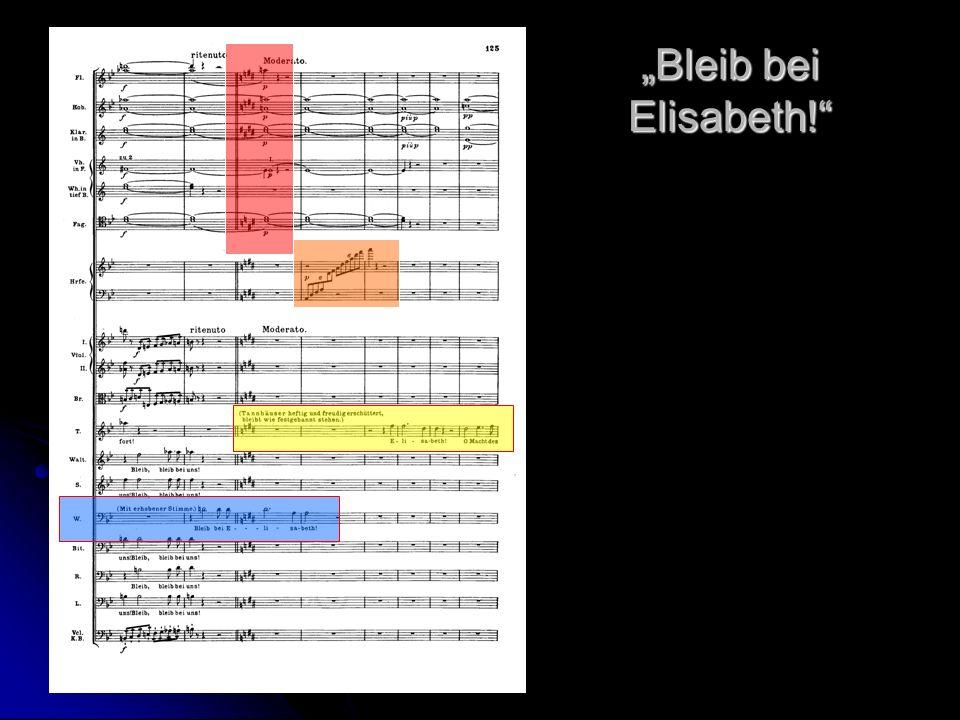 """""""Bleib bei Elisabeth!"""
