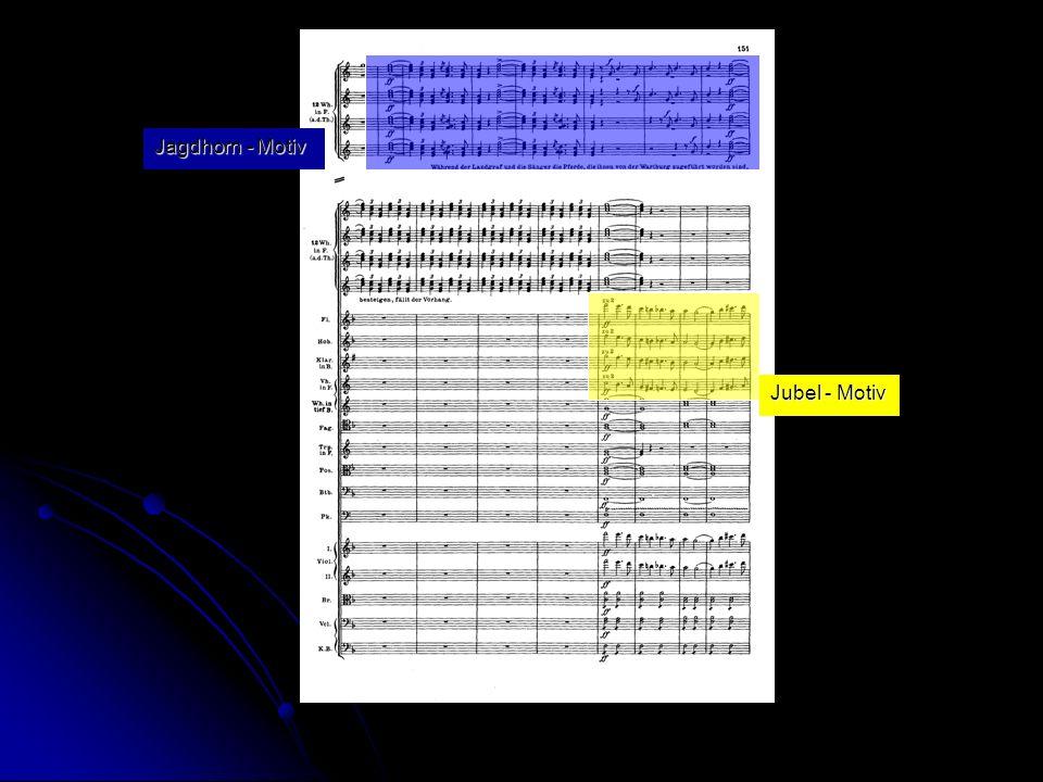 Jagdhorn - Motiv Jubel - Motiv