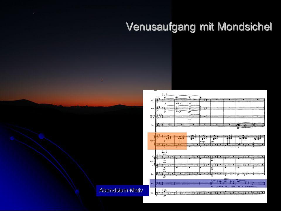 Venusaufgang mit Mondsichel