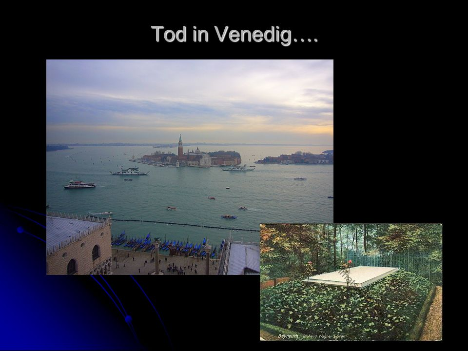 Tod in Venedig….
