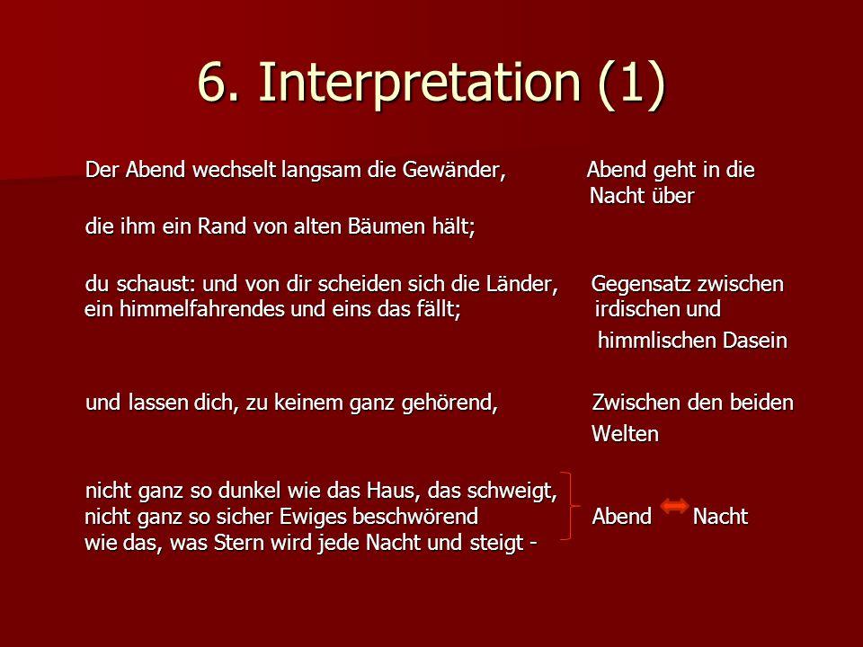 6. Interpretation (1)