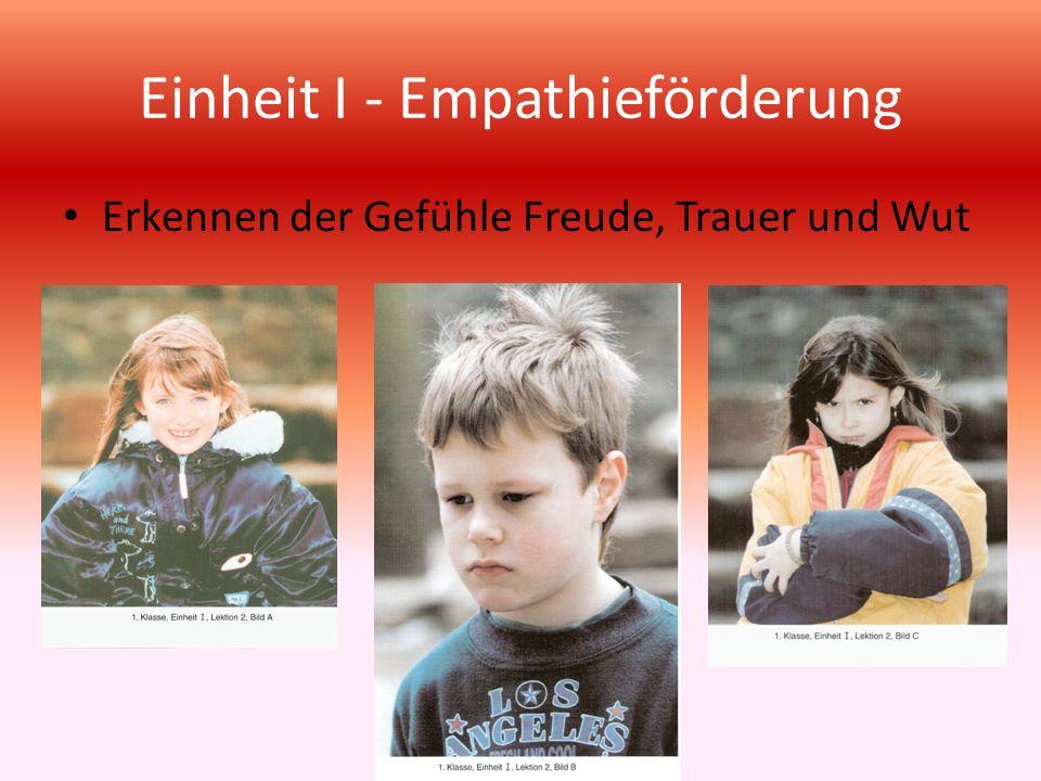 Einheit I - Empathieförderung