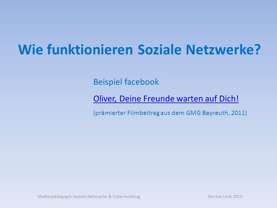 Wie funktionieren Soziale Netzwerke