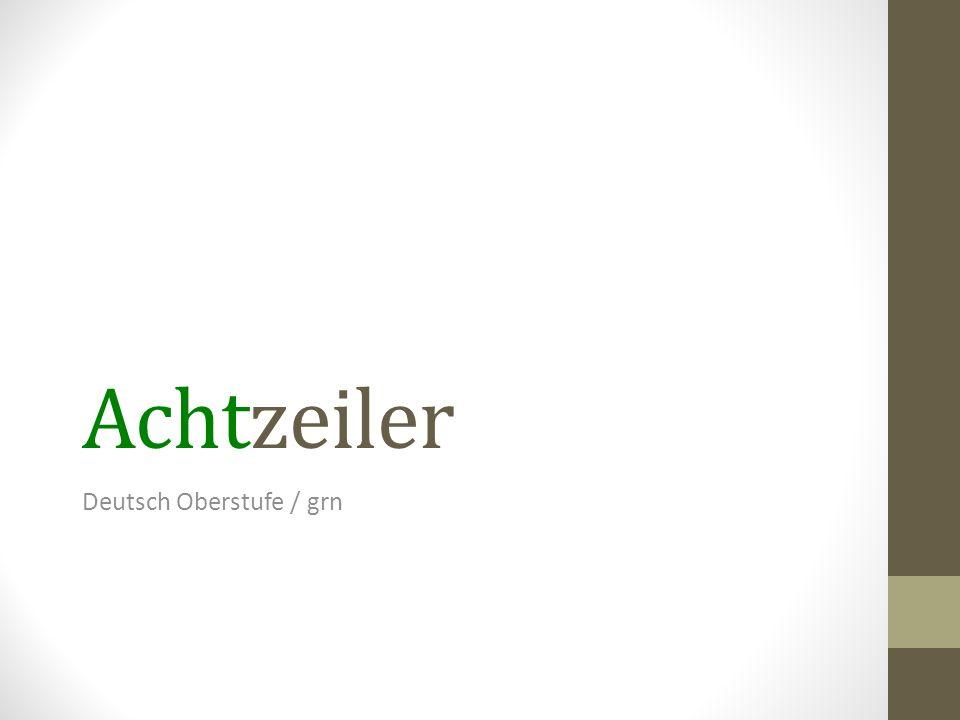 Deutsch Oberstufe / grn