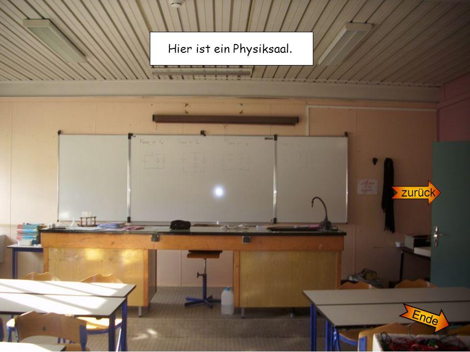 Hier ist ein Physiksaal.