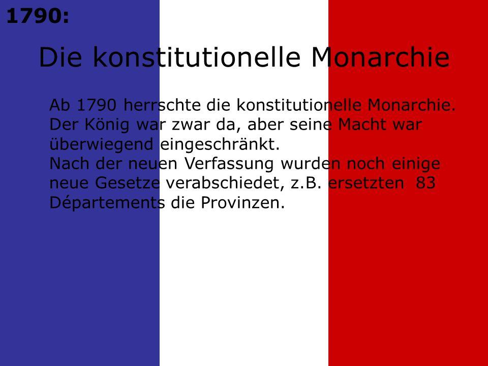 Die konstitutionelle Monarchie