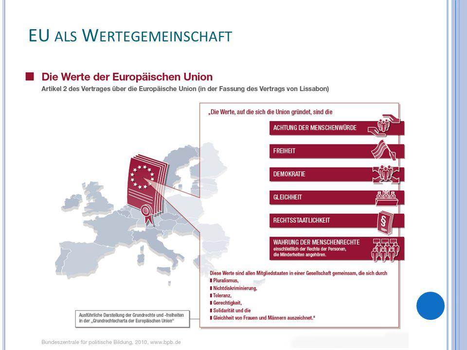 EU als Wertegemeinschaft