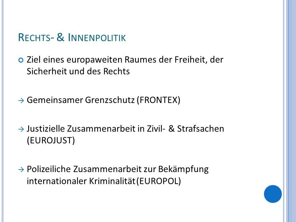 Rechts- & Innenpolitik
