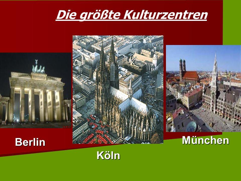 Die größte Kulturzentren