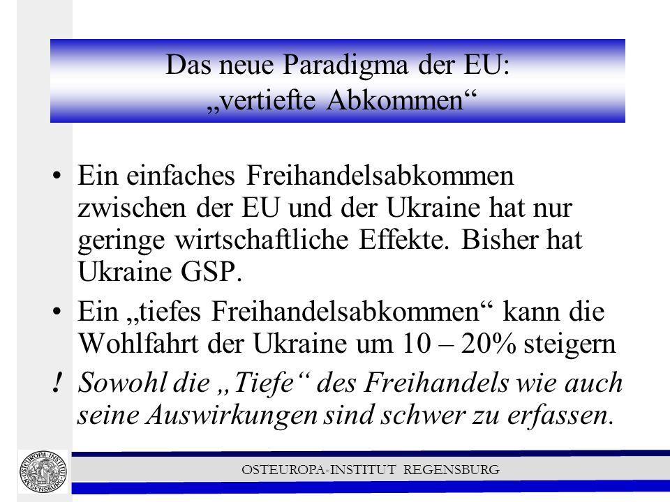 """Das neue Paradigma der EU: """"vertiefte Abkommen"""