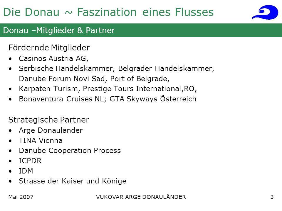 Donau –Mitglieder & Partner