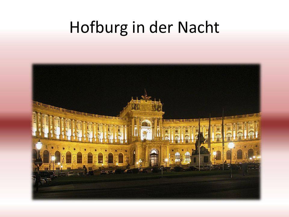 Hofburg in der Nacht