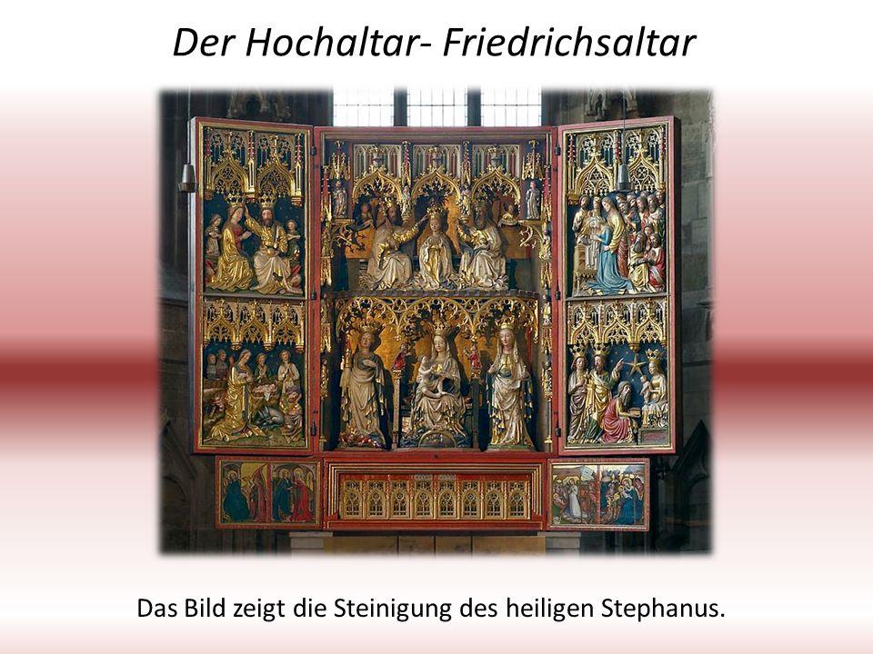 Der Hochaltar- Friedrichsaltar