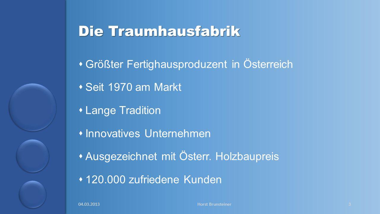 Die Traumhausfabrik Größter Fertighausproduzent in Österreich