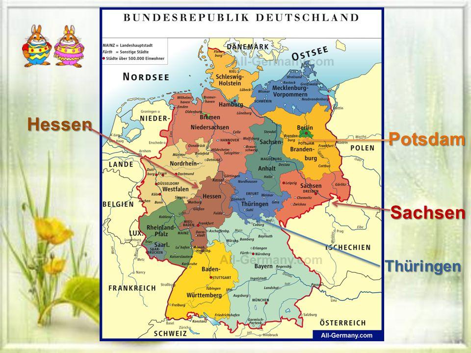 Hessen Potsdam Sachsen Thüringen