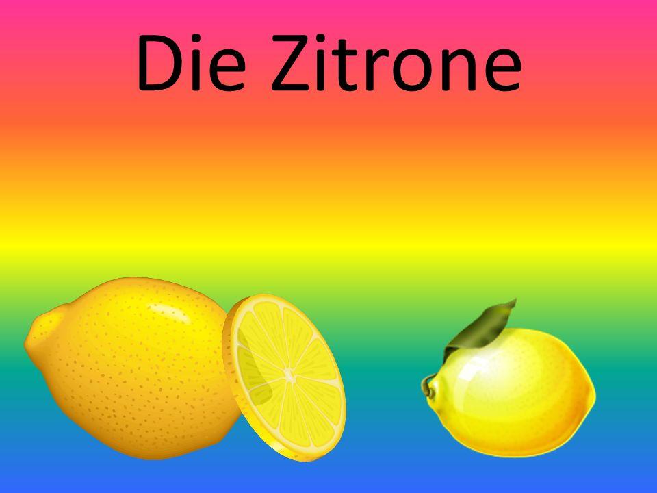 Die Zitrone