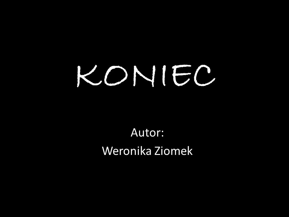 Autor: Weronika Ziomek