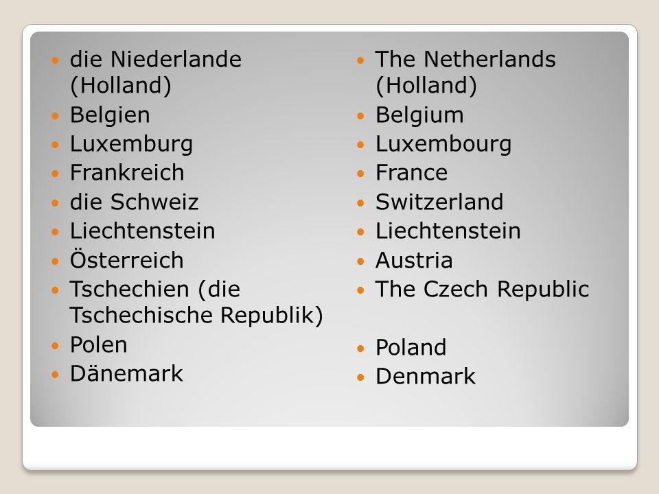 die Niederlande (Holland)