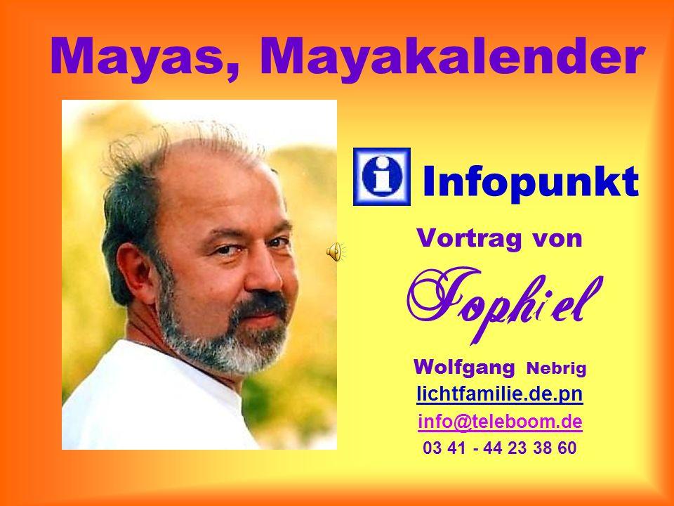 Mayas, Mayakalender Infopunkt